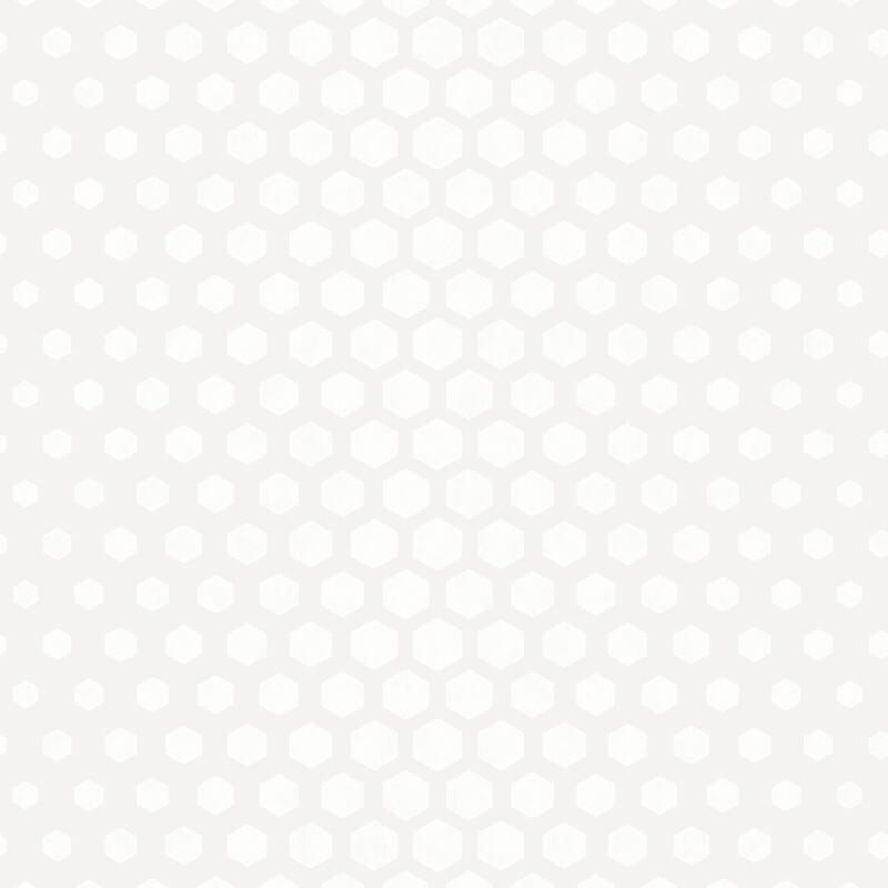 SK Filson Hexagon Ombre White Wallpaper - DE41859