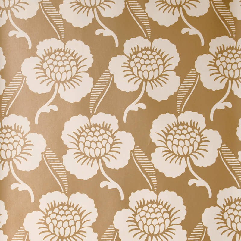 Little Greene St James's Place Wallpaper in Lustre