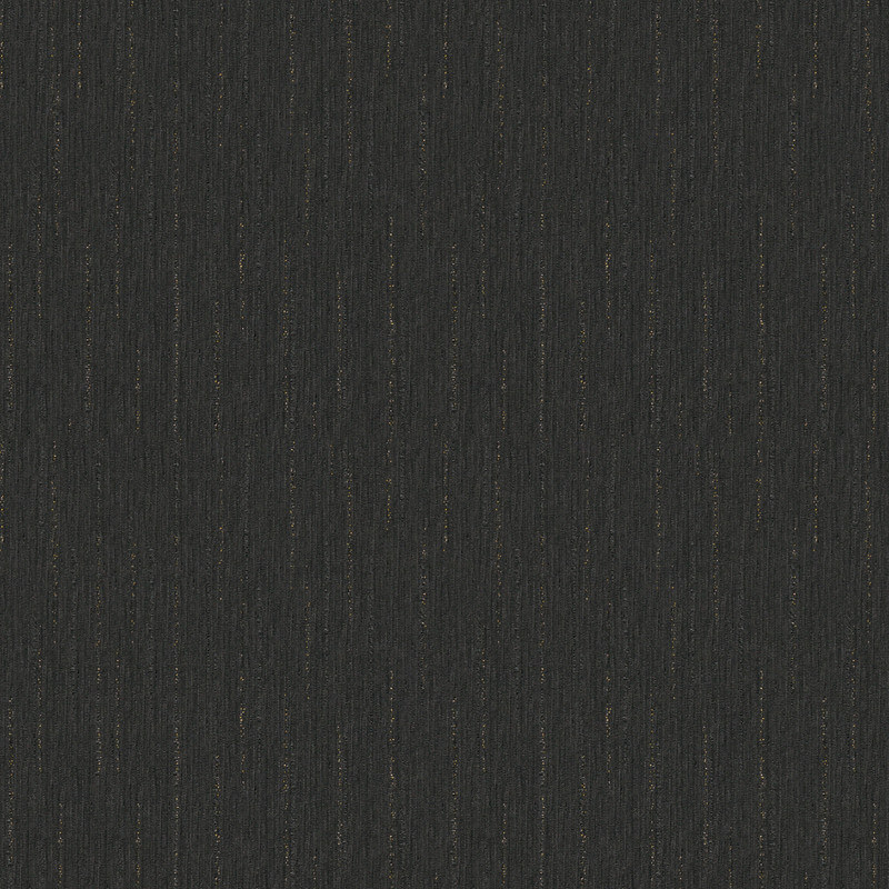 Versace Barocco Textured Black Glitter Wallpaper - 34327-3
