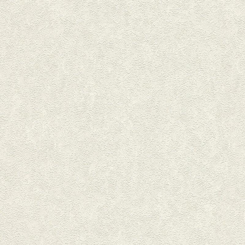 Versace Coral Plaster Silver/White Metallic Wallpaper - 93582-2
