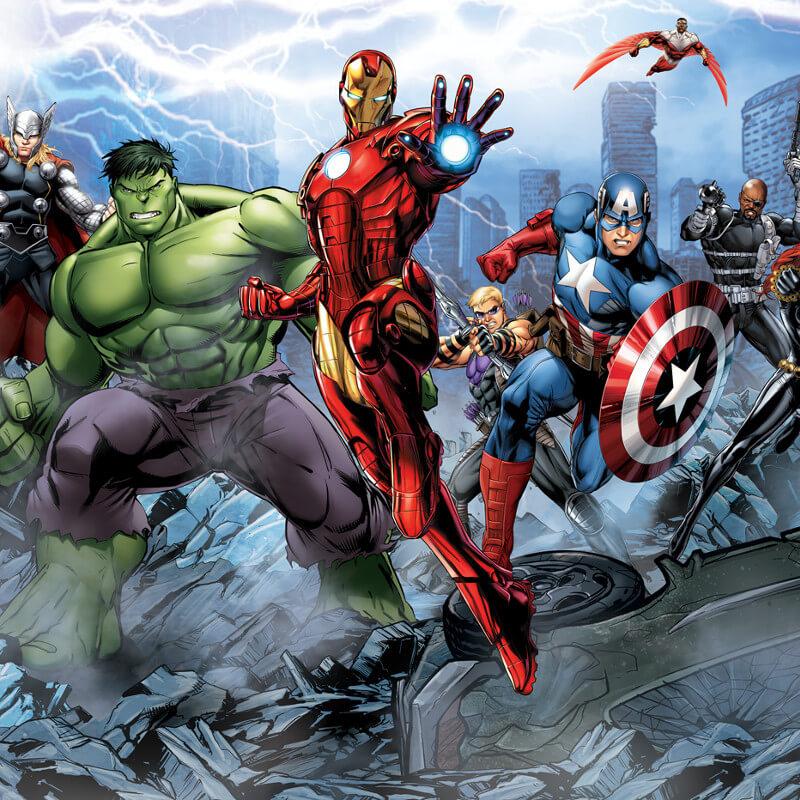 Walltastic Avengers Assemble Wallpaper Mural - 43848