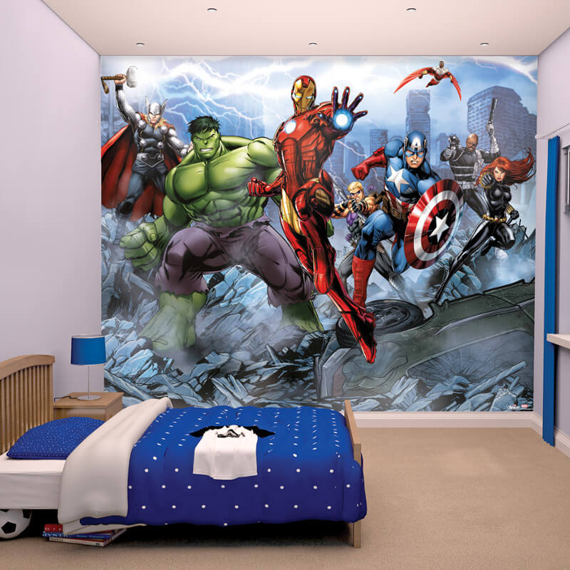 Walltastic Avengers Assemble Wallpaper Mural   43848 Part 12