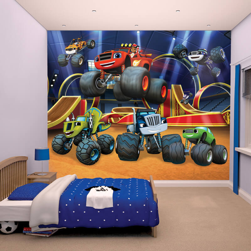 Walltastic Blaze and the Monster Machines Wallpaper Mural - 44524