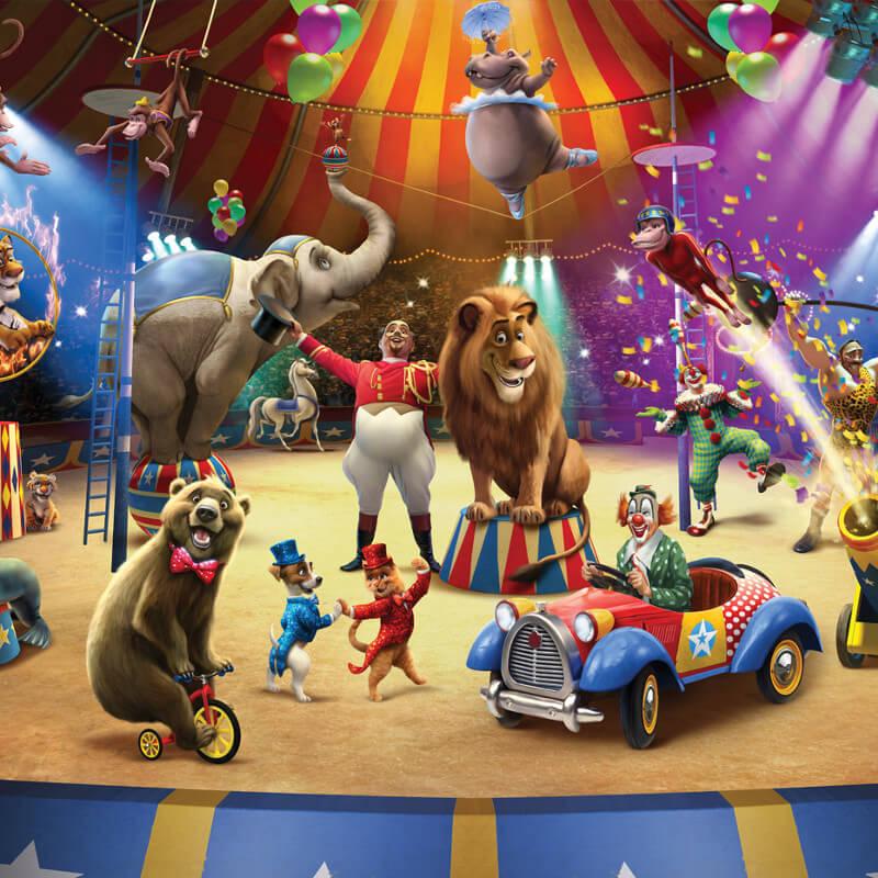 Walltastic Circus Wallpaper Mural - 42834