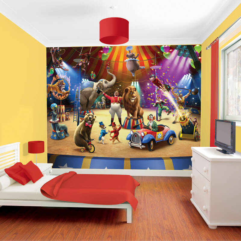 Walltastic Circus Wallpaper Mural 42834