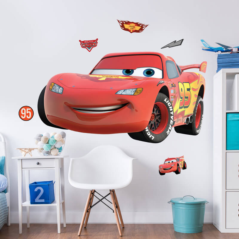 Walltastic Disney Cars Large Character Sticker - 44364