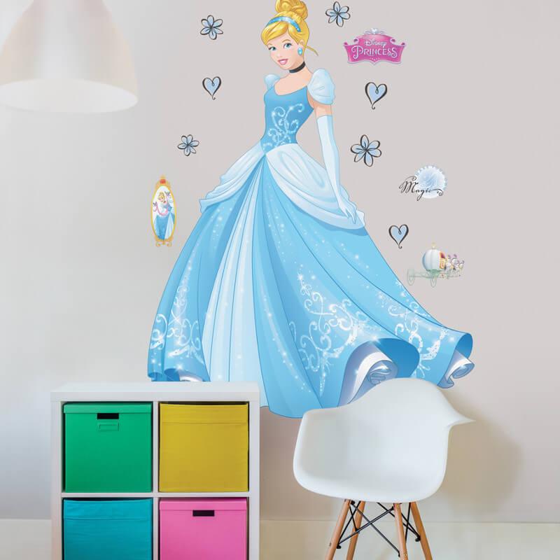 Walltastic Disney Princess Cinderella Large Character Sticker - 44340