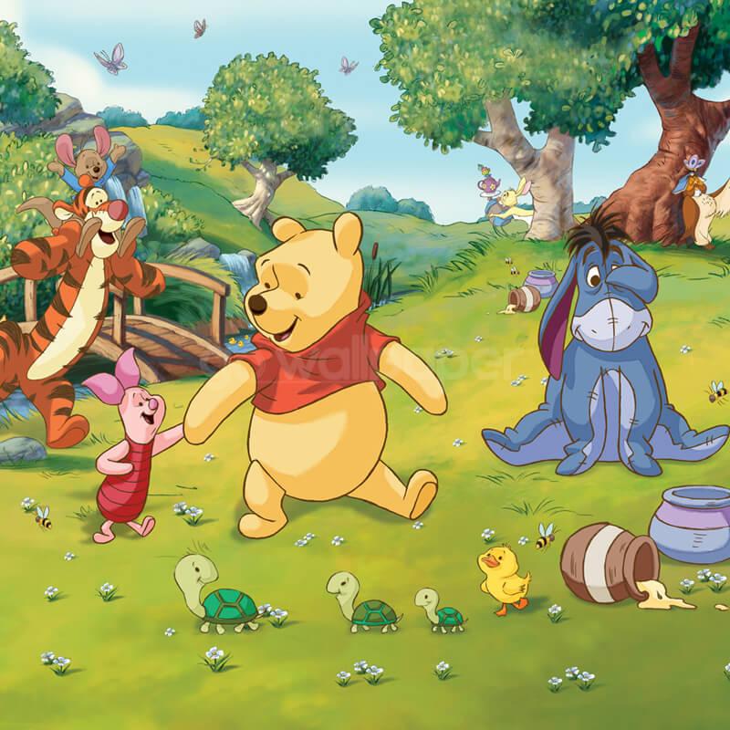 Walltastic Disney Winnie the Pooh Wallpaper Mural - 42100