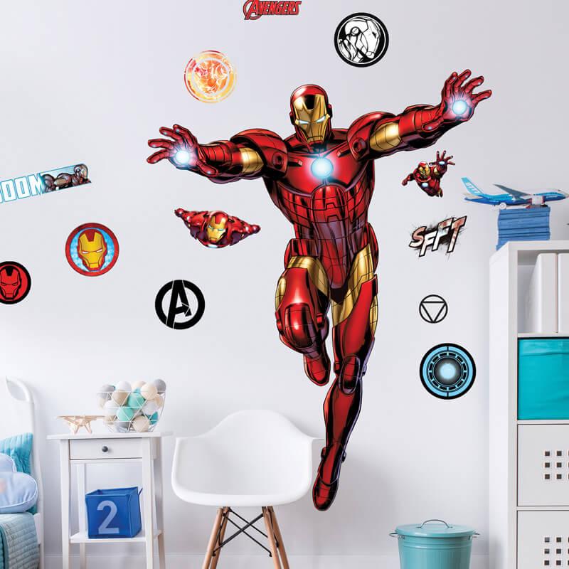 Walltastic Iron Man Large Character Sticker - 44296