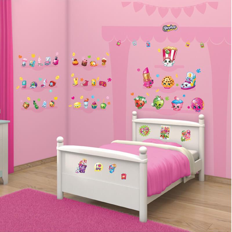 Walltastic Shopkins Room Decor Kit - 44227
