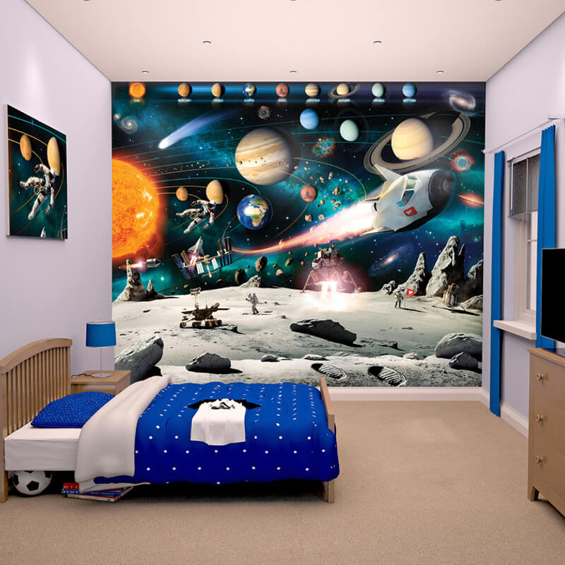 Walltastic Space Adventure Wallpaper Mural - 41837