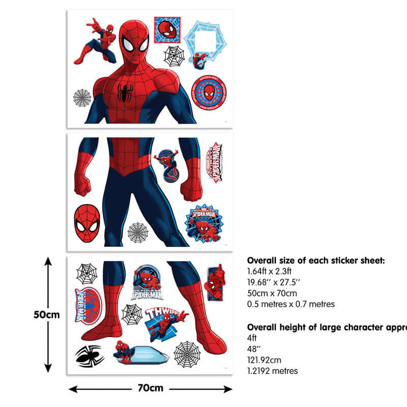 Walltastic Spiderman Large Character Sticker - 44302