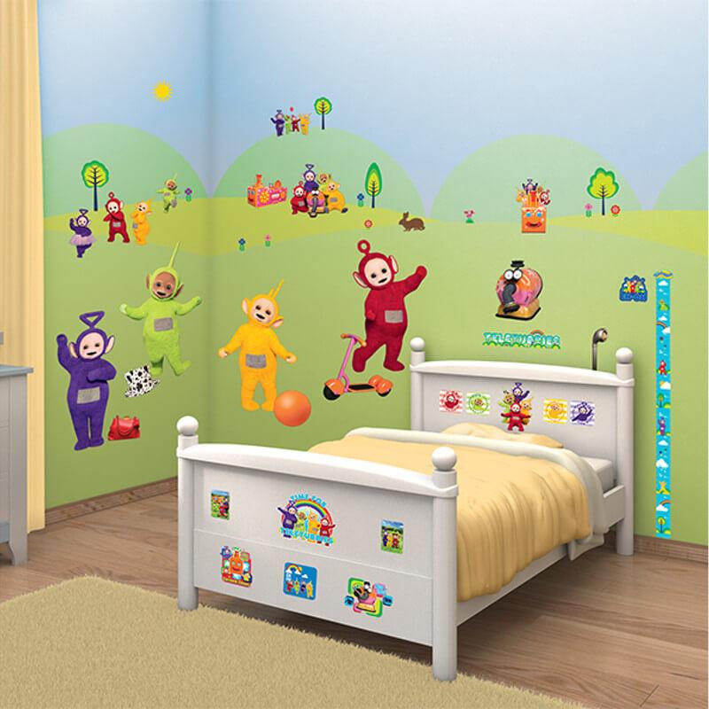 Walltastic Teletubbies Room Decor Kit - 44494