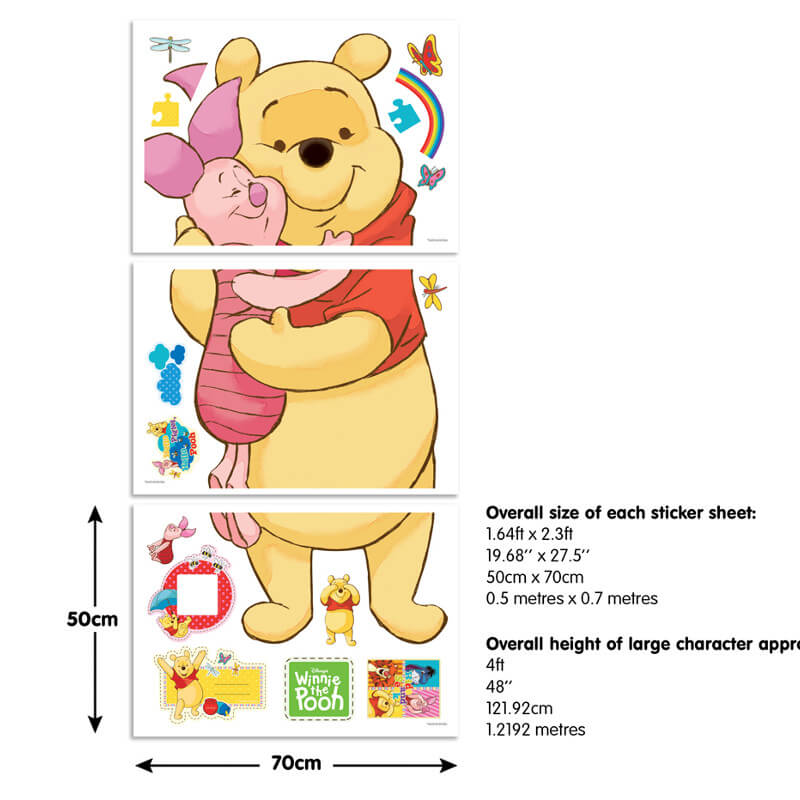 Walltastic Winnie the Pooh Large Character Sticker - 44319