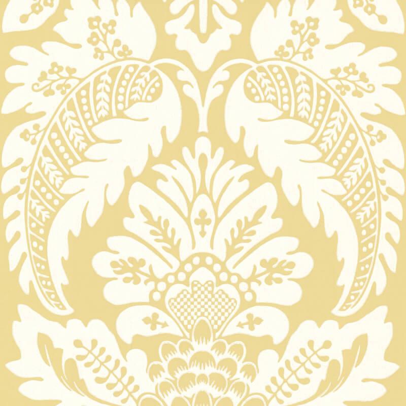 Little Greene Wilton Wallpaper in Cravat