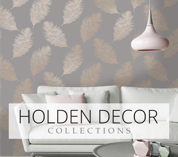 wallpaper advert for Holden Decor