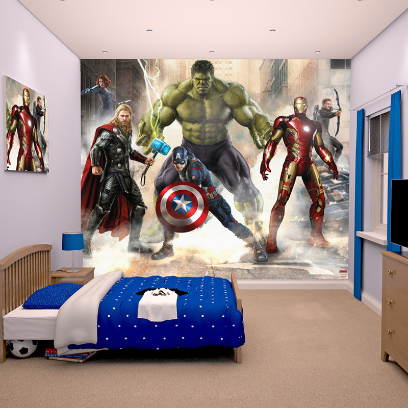 why updating a kids bedroom is so easy with walltastic. Black Bedroom Furniture Sets. Home Design Ideas