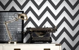 Black and White Wallpaper - A Fresh New Look for Your Home