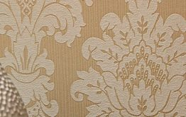 Bronze and Gold Wallpaper - Add Roman Styling to Your Bedroom
