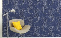 5 Ways to Add Blue Wallpaper to Your Home