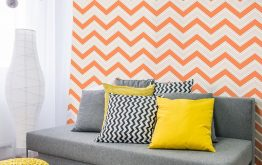 How about Orange Wallpaper? Add Warming Tones To Your Home